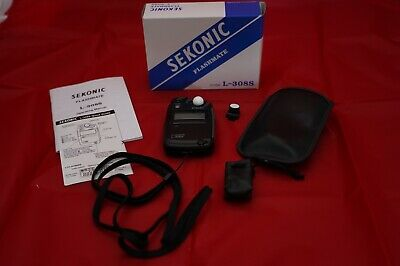 Sekonic Flashmate L-308s Light Meter mint condition Never been used.