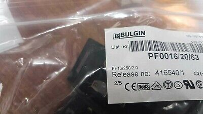 15x BULGIN PF0016/20/63 Power Entry Module M 2 POS