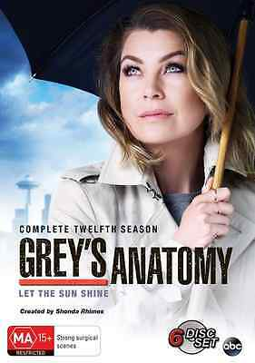Grey's Anatomy : Season 12 : NEW DVD