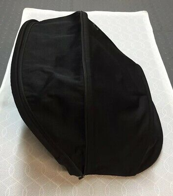 QUINNY BUZZ / XTRA MAIN SEAT UNIT HOOD IN BLACK - Large Extendable Hood