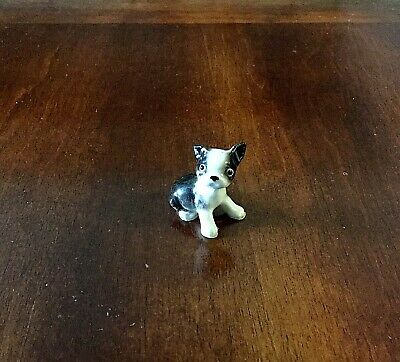 Vintage Collectible Ceramic Porcelain Antique Dog Statue Figurine Hagen-Renaker