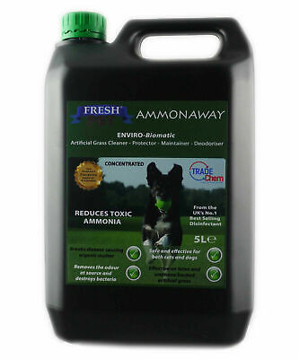 Artificial Grass Turf Cleaner Controls Ammonia PET GUARD