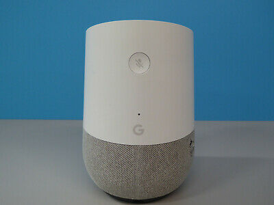 Google Home Hands Free Smart Speaker White/Grey Grade C (743432)