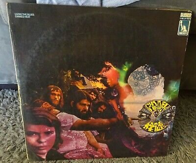# Canned Heat LIVIN' THE BLUES Italy 1962 blues G/F (Doppio Album) 2 LP-S01153