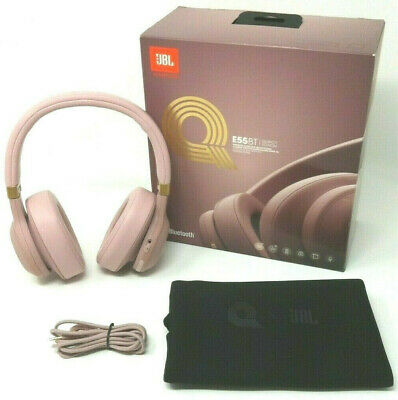 943f367c780 JBL E55BT Wireless Headphones, Quincy Edition (Pink) - FREE SHIPPING