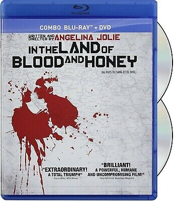 In The Land Of Blood And Honey (Directed By Angelina Jolie) *New Blu-Ray + Dvd*