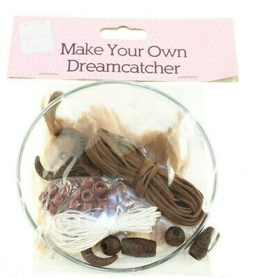 Make & Create Make Your Own Dream Catcher The Works New Genuine