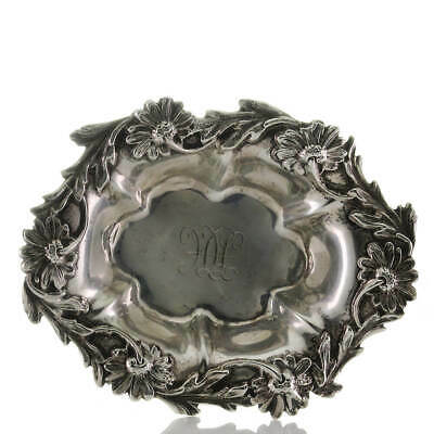 Antique Small Bowl Basket Sterling Silver William B. Kerr Co.Silver 1880 - 1927