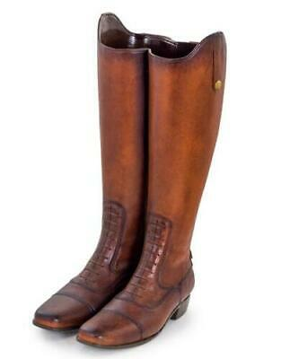 Vintage Style Leather Effect Boots Umbrella Brolly Walking Stick Stand Holder
