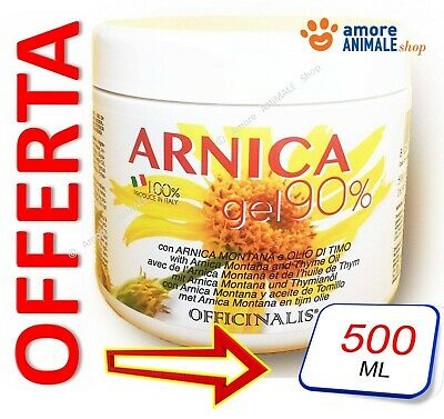 Officinalis ARNICA 90% Gel 500 ml - Cura distorsioni e traumi Antinfiammatorio