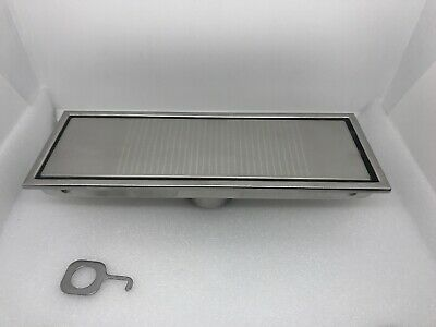 304 Stainless Steel Bathroom Floor Drain Waste Grate Shower Invisible Drainer