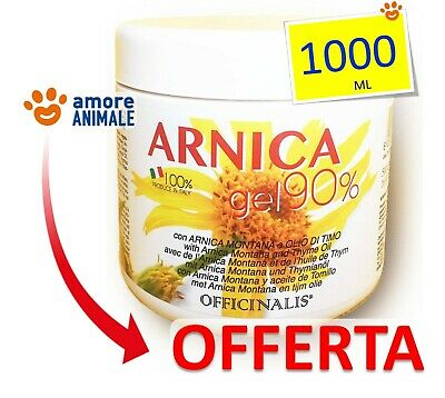 Officinalis ARNICA 90% Gel 1000 ml - Cura distorsioni e traumi Antinfiammatorio