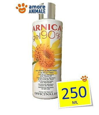 Officinalis ARNICA 90% Gel 250 ml - Cura distorsioni e traumi Antinfiammatorio