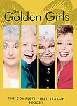 The Golden Girls - The Complete First Season 1 (DVD, 2004, 3-Disc Set) NEW