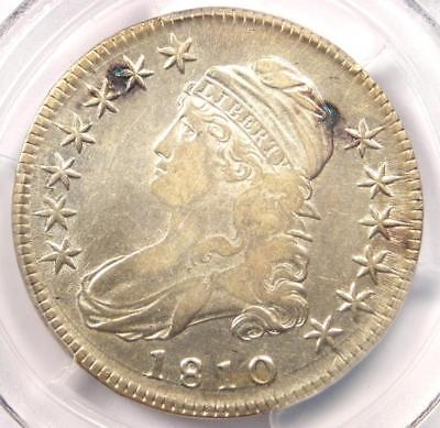 1810 Capped Bust Half Dollar 50C O-103 Coin - PCGS XF Details (EF) - Rare Date!