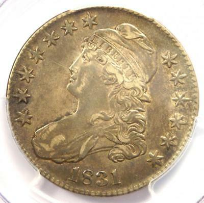1831 Capped Bust Half Dollar 50C O-102 - PCGS XF40 (EF40) - Rare Certified Coin!