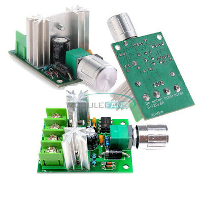 DC 6A Motor Speed Control Pulse 6V-12V Width Modulation PWM Controller Switch
