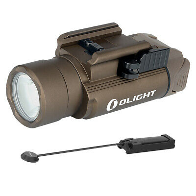 Olight PL PRO Valkyrie Rechargeable Flashlight with Olight Pressure Switch (Tan)