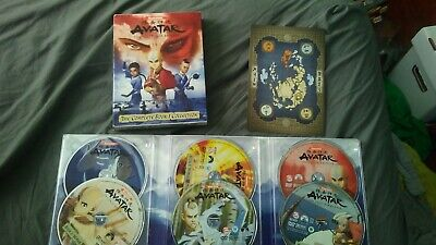 Avatar: The Last Airbender: The Complete Book 1 Collection DVD BOXED set