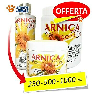 Officinalis ARNICA 90% Gel  250 / 500 / 1000 ml - Distorsioni muscoli e tendini