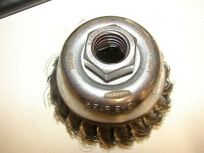 OSBORN STEEL  KNOT WIRE  WHEEL BRUSH CUP 33052 2-3/4 OD DC Cup