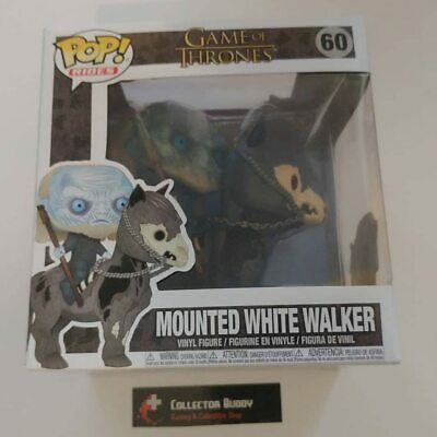 Funko Pop! Rides 60 Game of Thrones Mounted White Walker on Horse Pop Figure