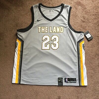 4ec902af Nike Swingman Connected Jersey Cleveland Cavaliers The Land LeBron James  3XL NEW
