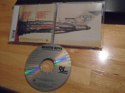 Beastie Boys CD Licensed to Ill rap MCA Ad-Rock Mike D SLAYER Kerry King 1986 !