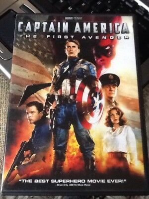 Captain America/The First Avenger - Marvel DVD- Chris Evans - Tommy Lee Jones