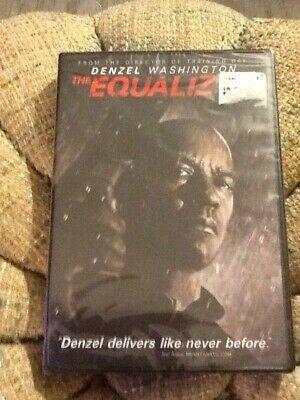 The Equalizer - Denzel Washington - DVD - Brand New