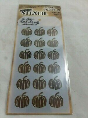 Stampers Anonymous Tim Holtz Layering Stencil Pumpkins TH5062 New