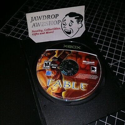 FABLE  (MICROSOFT XBOX) Video Game DIsc Only *ORIGINAL XBOX* (DISC ONLY) USED