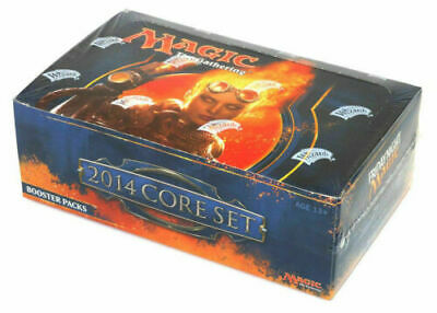 Magic 2014 Core Set Booster Box - ENGLISH - Factory Sealed mtg - SPARROW MAGIC