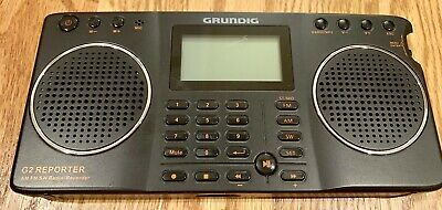 Grundig G2 Reporter AM FM Shortwave Radio Recorder  ***UNIT ONLY***