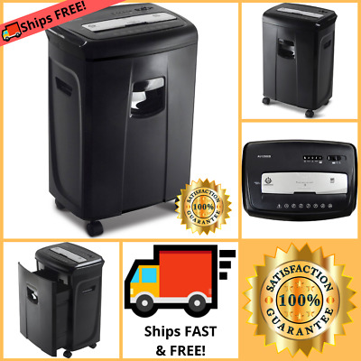 Best Heavy Duty Document Shredder Industrial Page Large Paper Commercial Machine