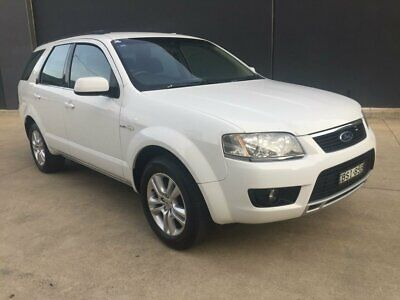 2010 Ford Territory SY MKII TS Wagon 5dr Spts Auto 6sp, AWD 4.0i White A Wagon