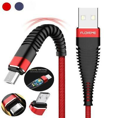 2A Braided Micro USB Charger Cable Fast Charging Cord For Tablet Android