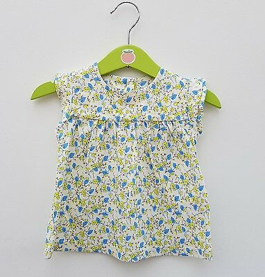 Baby Girls Ditsy Flower Tunic Top Ex M&S ONLY  Age 3 6 9 Months LEFT !
