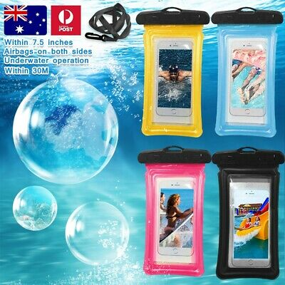 Floating Waterproof Underwater Phone Seal Case Dry Bag Pouch for Samsung S10 9 8