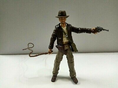 "3.75"" Indiana Jones Raiders of the Lost Ark action figure with Accessories#02"
