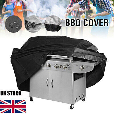 145 cm BBQ Cover Garden Patio 2 4 Burner Barbecue Grill Storage Dust Proof