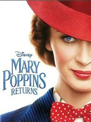 Mary Poppins Returns [DVD] 2019. BRAND NEW & SEALED.