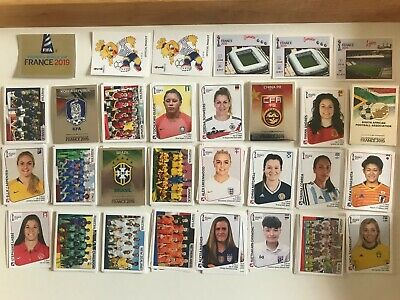 PICK x10 FOR £1.99 -updated 23/7/19 PANINI 2019 WOMENS WORLD CUP FRANCE STICKER