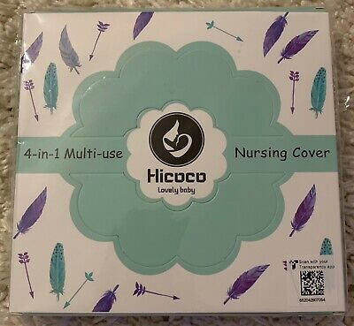 Hicoco Nursing Cover Carseat Canopy Baby Breastfeeding Cover Car Seat Covers New