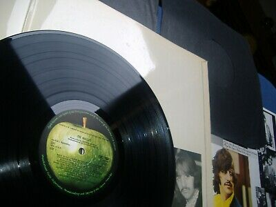 """nr MINT """""""""""""""" 1968 UK Ist Press """""""""""""""" Beatles WHITE ALBUM  """"""""""""All INSERTS Complete"""