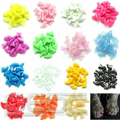 Cat Claw Cover Pet Nail Caps Claw Control Paws off Adhesive Glue Hot Sale Supply