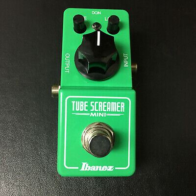 Ibanez TS Mini Tube Screamer Overdrive Guitar Effects Pedal, Tubescreamer MIJ