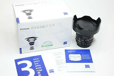 Zeiss 18mm F/3.5 Distagon T* ZF.2 lens for Nikon, new in the box