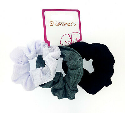 Shimmers - 3 Pack of Hair Scrunchies - 3 designs to choose from