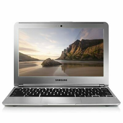 "Refurbished 11.6"" Samsung Chromebook With Chrome Os Webcam Hdmi Notebook"